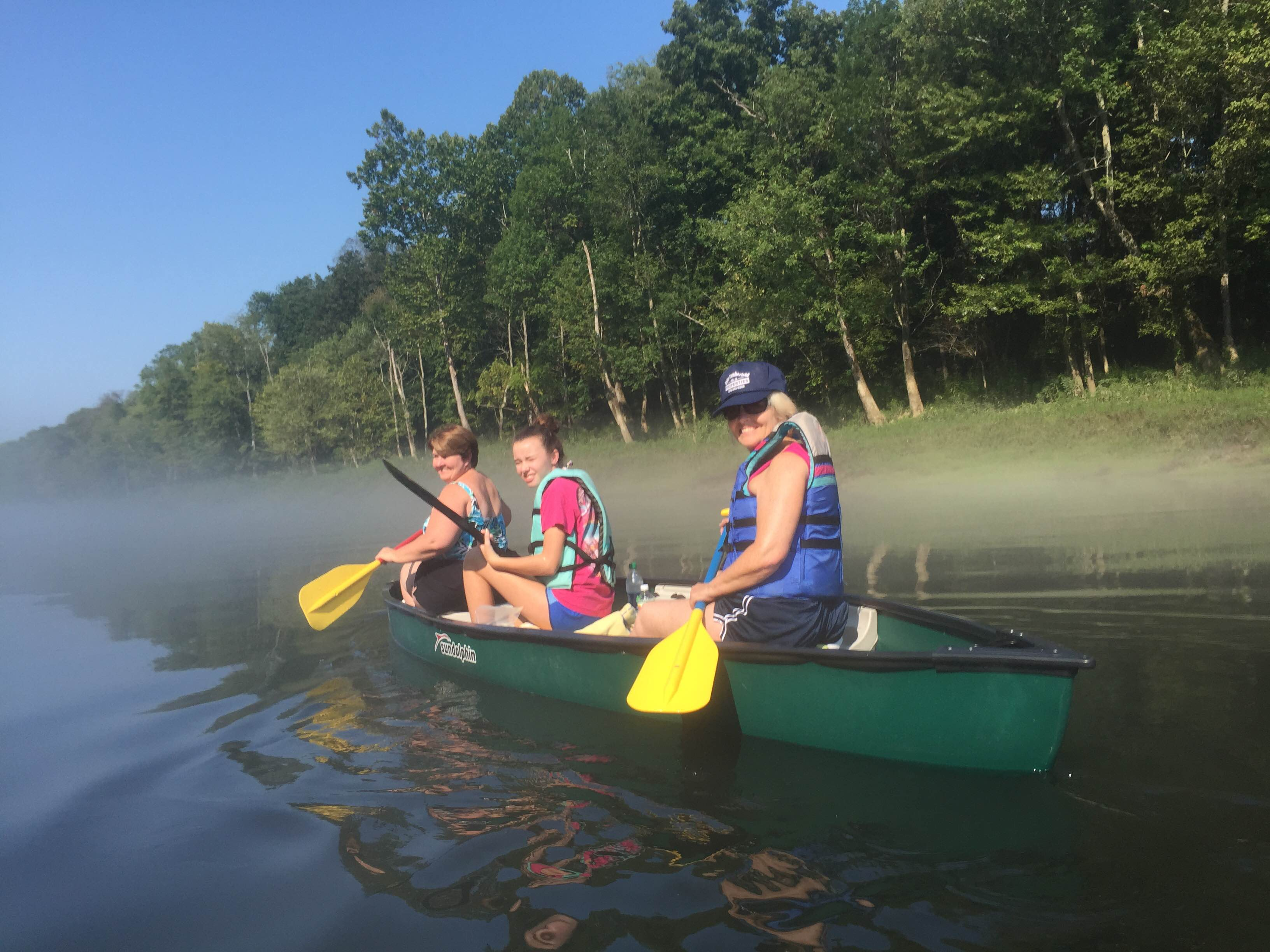Trail cumberland river paddle trail official visitor for Lake cumberland fishing